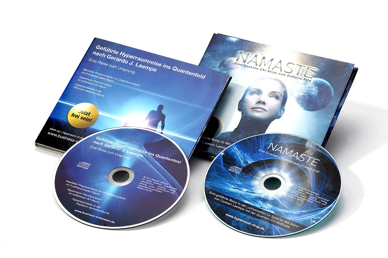Hyperraumreise und Namaste-CD von Gerardo und Carmen Laempe