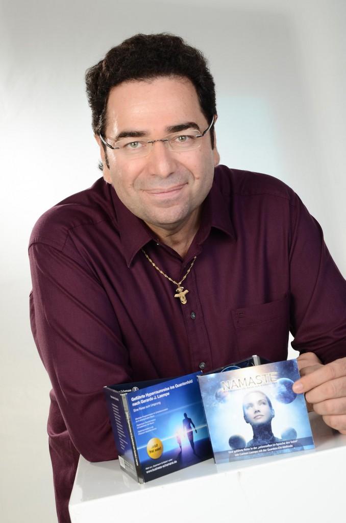 Gerardo Laempe mit Hyperraumreise und Namaste Audio CD. Mehr Infos hier...