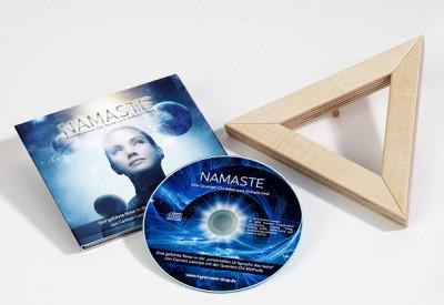 Namaste Quanten Chi CD mit Matrixdreieck Nano