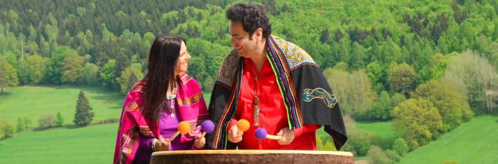 Schamanen Carmen und Gerardo Laempe