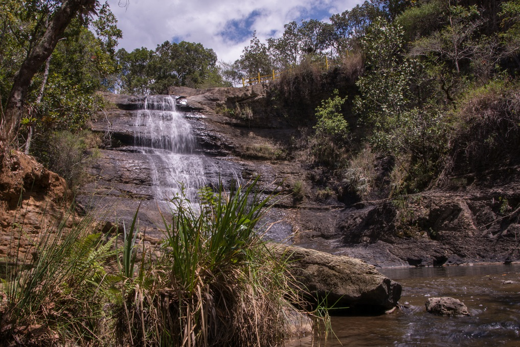 Wasserfall, Naturpark La Periquera