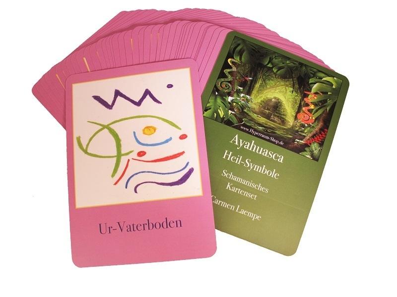 Ayahuasca-Pflanzensymbole. Das Kartenset für eine schnelle und wirksame Transformation!.