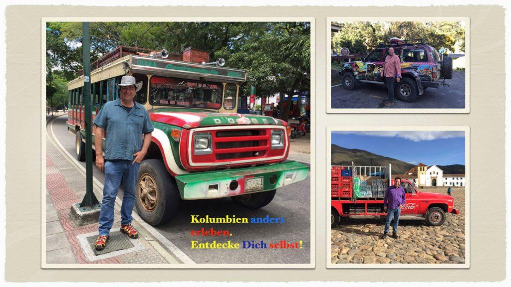 Gerardo Laempe on Tour in Kolumbien