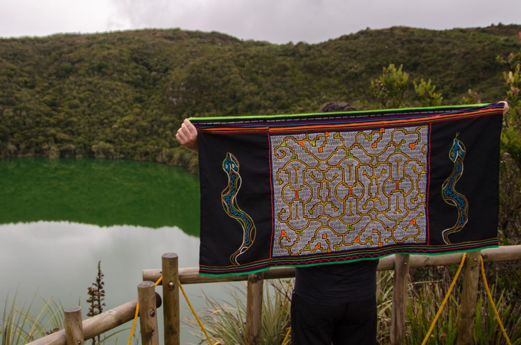 Erlebe die Zeremonie an der Laguna del Cacique Guatavita