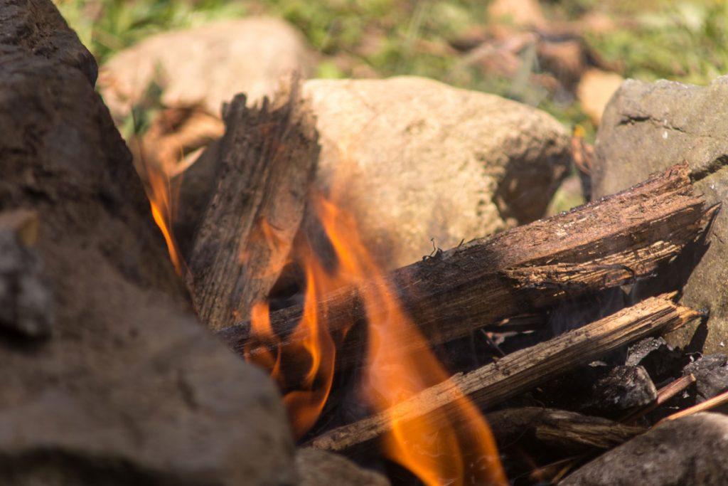 Feuer - Loslassritual Kolumbien