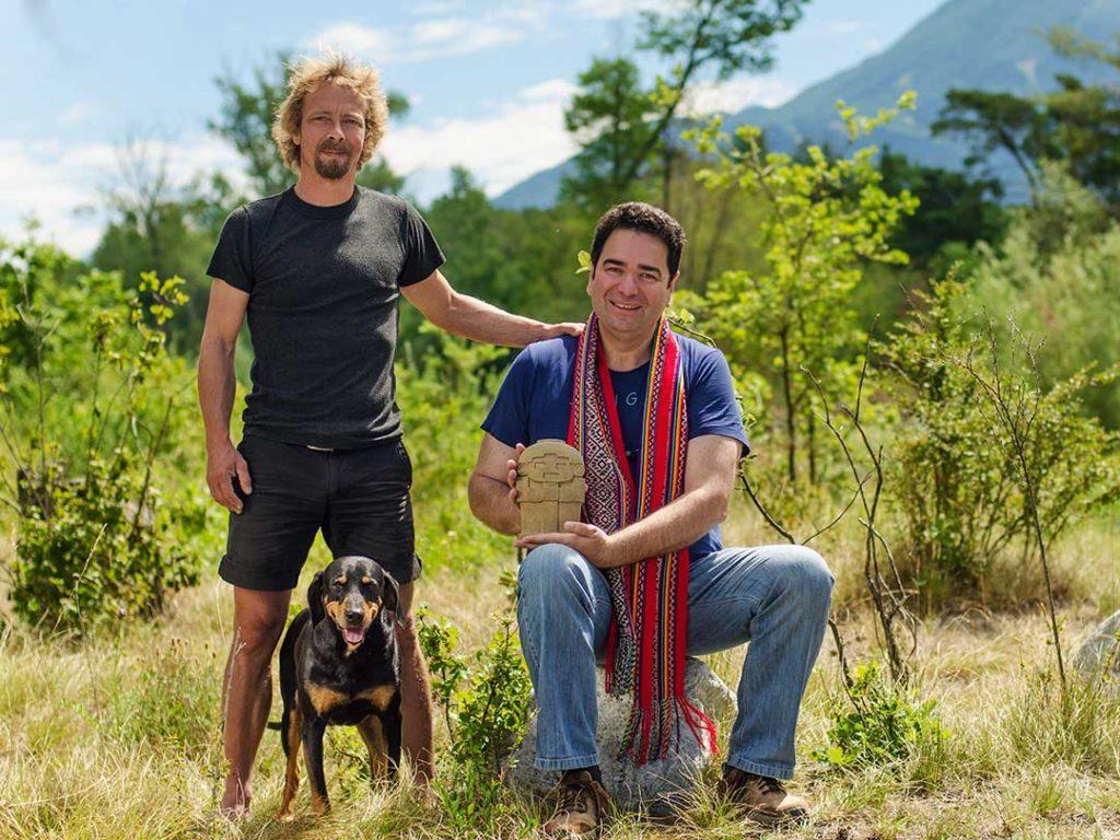 Naturcoaches Thomas Imboden und Gerardo Laempe