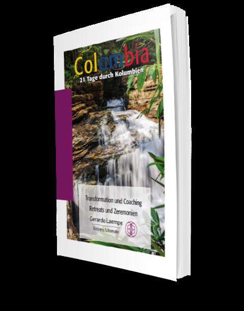 Cover der Kolumbien Broschüre
