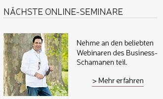 Webinare des Business Schamanen.