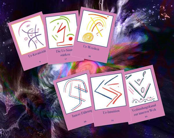Ayahuasca Pflanzensymbole - Kartenset