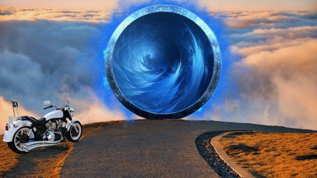 Zeitreise Dimensionstor - Gerardo Laempe